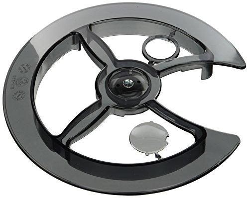 Point - Disco di Protezione in PVC per Catena, a Fissaggio Universale, Trasparente (Trasparente), 42-44 Denti