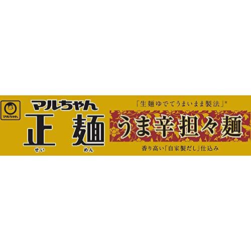 マルちゃん正麺カップうま辛担々麺126g×12個