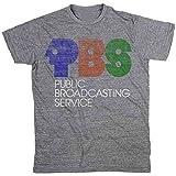 Palmer Cash PBS Logo T-Shirt Heather Grey New 100% Authentic.jpg S Grey