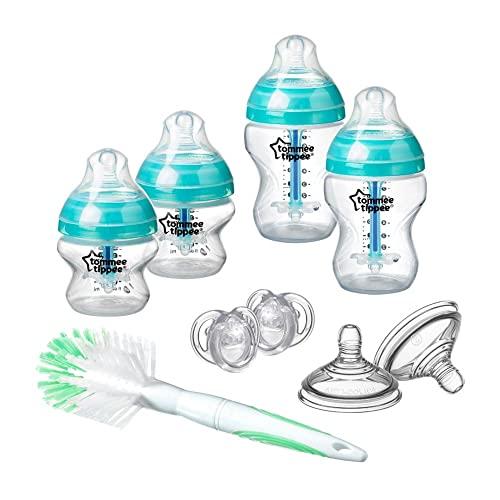 Tommee Tippee Advanced - Juego de iniciación de botellas anticólicas