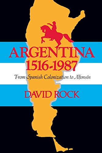 Argentina, 1516-1987: From Spanish Colonization to Alfonsín