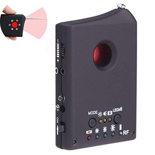 YCRD Wireless-Signal-Detektor, GSM-Gerät Erkennung GPS-Tracker, Anti-Spy-Signal-Monitor Infrarot-Nachtsicht LED-Licht, Anti-Lauschangriff Und Sneak-Schuss-Überwachung