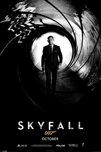 James Bond - Skyfall Teaser Poster Drucken (60,96 x 91,44 cm)