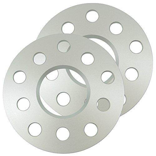 SilverLine Spurverbreiterung HA 10mm Achse (5mm Rad) LK: 5x112 NLB: 66,6mm - 10213E_18_4250891962857