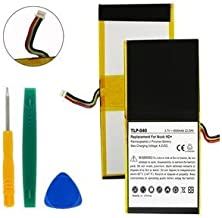 TLP-040 Li-Pol Battery - Rechargeable Ultra High Capacity (Li-Pol 3.65V 6000mAh) - Replacement For BARNES AND NOBLE NOOK HD Tablet Battery