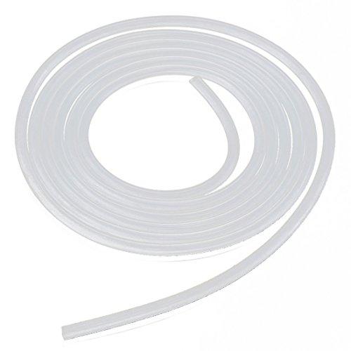 CDKJ tubo di gomma flessibile 8MM resistente alle alte temperature per uso alimentare tubo di acqua Aria tubo traslucido trasparente per trasferire pompa 2 metri di lunghezza