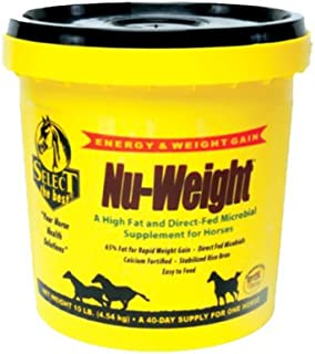 Select The Best Animal Health International 121003 Nu-Weight Horse Fat & Energy Supplement, 10-Lbs. - Quantity 2