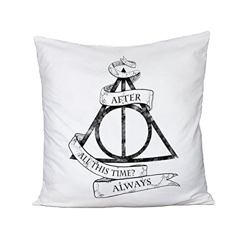bubbleshirt Cuscino Harry Potter - After all This Time? Always - in Cotone