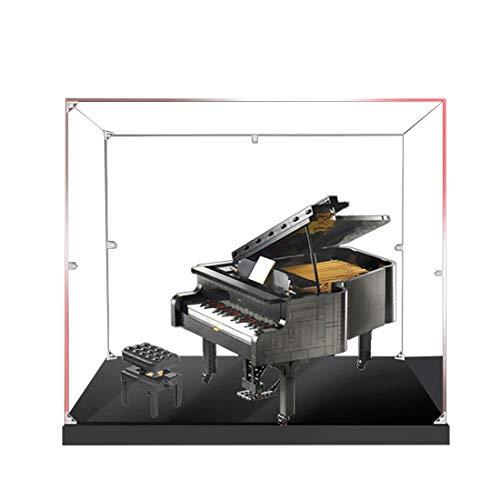 Dittzz Acryl Vitrine für Lego Model, Schaukasten Display Case für Lego 21323 Grand Piano (Ohne Lego-Modelle)
