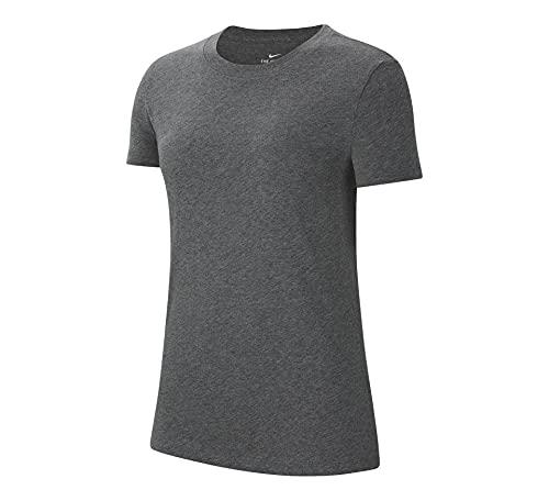 NIKE Women's Team Club 20 tee Camiseta, Azul, Blanco, Large para Mujer
