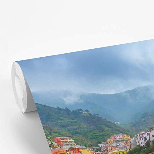 Fotobehang vinyl Citrusbomen - Citrusbomen en Rio Maggiore 600x400 cm