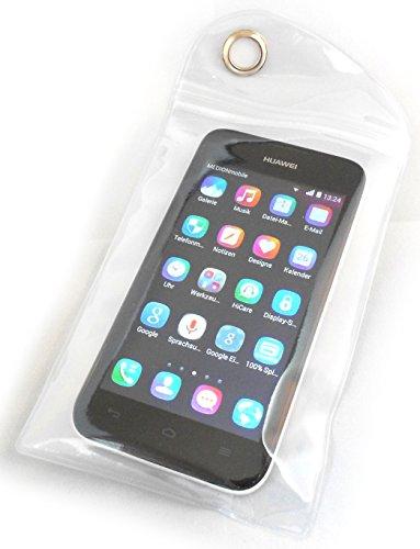PRESKIN - Wasserfeste Tasche bis 5 Zoll Display, Wasserdichte Smartphone Schutzhülle / Handy Hülle (SmartBag5