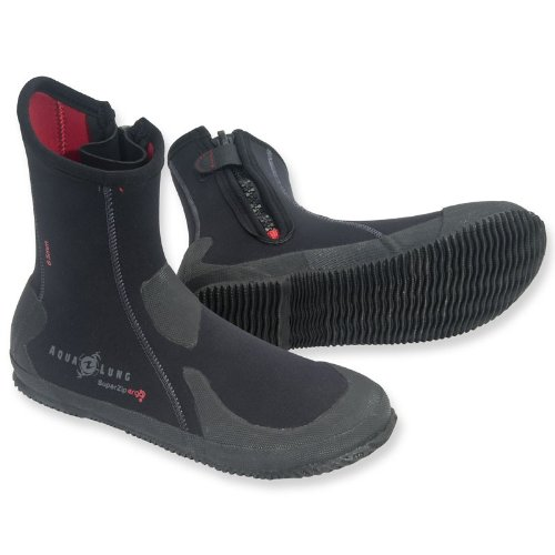 Aqua Lung 6.5mm Superzip Ergo Dive Boots