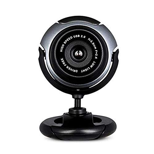 YUTR Webcam en Vivo de Webcam Plug and Play Web cámara Full HD 480P cámara Gran Angular de la cámara Pro computadora for Video Llamadas USB Webcam de la PC