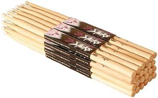 On-Stage Maple 5B Nylon Tip Drumsticks, 12 Pairs