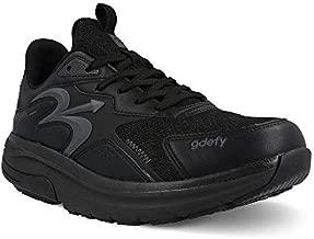 Gravity Defyer Men's G-Defy Energiya 10.5 M US - Hybrid VersoShock Performance Shock-Absorbing Cross-Trainer Shoes Black