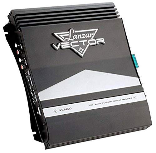 Lanzar VCT2110 - Amplificatore Mosfet a 2 canali da auto, 1000 W