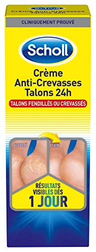 SCHOLL Crème Anti-Crevasses Talons 24 H - 60 ml