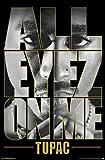 343238 Tupac All Eyez on Me Shakur Music Decor Wall 24x18 Poster Print