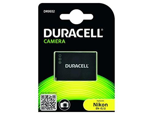 Duracell DR9932 - Batería para cámara Digital 3.7 V, 1000 mAh (reemplaza batería Original de Nikon EN-EL12)