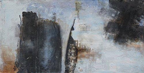 ARTESTOCK Cuadro Abstracto. Obra Exclusiva Pintada a Mano. 140 x 70 cm