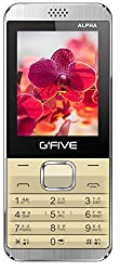 G Five Alpha Mobile Phone with Digital Camera and 2.4 inch Screen (Dual Sim , Champagne Gold)