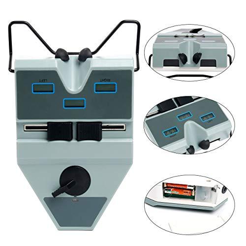 Digitaler optischer Entfernungsmesser Pupillen-Entfernungsmesser 45-80 mm mit LCD-Anzeige