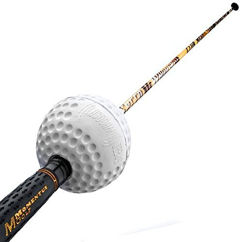 Momentus Ladies Speed Whoosh Golf Swing Trainer with Training Grip, Right Hand