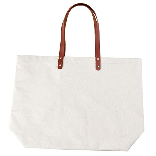 ElegantPark Birthday Gifts for Women Personalized Monogrammed Gifts Bag Monogram K Initial Bags and Totes for Wedding Gifts Teacher Gifts Bag with Pocket Canvas