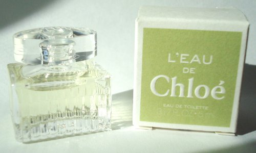 L'EAU DE CHLOE Eau De Toilette 5ml - 0.17oz. For Women. Splash. MINI (The Bottle is approx. 1-2inches high). New in Box. by Chloe