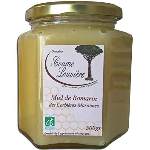 Miel Bio de romarin des Corbières Maritimes 500 g