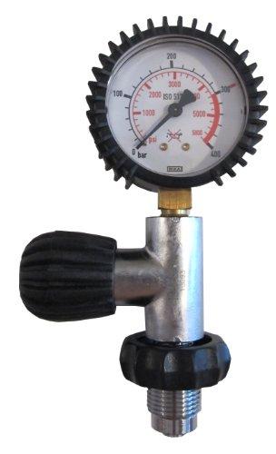 Polaris Prüfmanometer bis 300Bar DIN Ventil