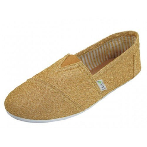 Anig Shoes Womens Canvas Slip on Sh…