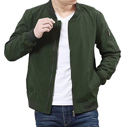 Frühlingsjacke Große Herrenbekleidung Düngerhinzufügen, um die Dünnschichtjacke zu erhöhen. Herren Business Casual Big SizeJacke Plus Size7XL 6XL 5XL Male