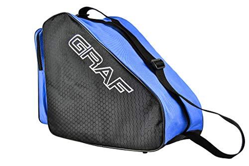 Graf Schlittschuhtasche Tasche für Schlittschuhe und Inlineskates Skates (pink)