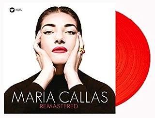 Maria Callas Remastered Exclusive Red Vinyl w/ 7