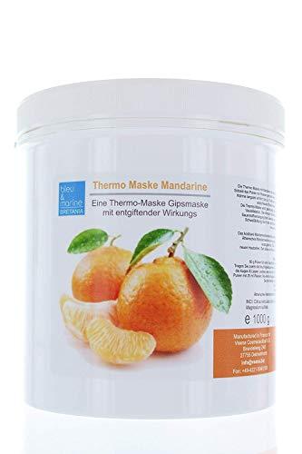 Veana Bleu & Marine Mandarine-Gips Thermo Masque (Désintoxication), Lot de 1 Paquet (1 X 1 kg)