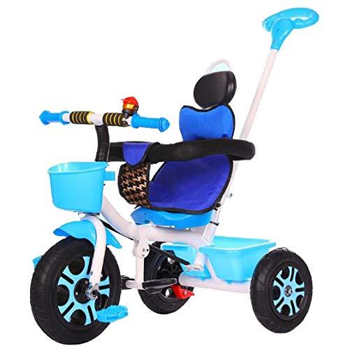Axdwfd Kinderfiets, driewieler, gewicht 100 kg, 1-6 jaar, oud, verjaardag, kinderen, cadeau voor kleine kinderen, wandeltochten, trike