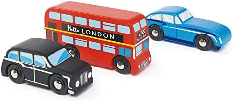 OFFer Tender Leaf Toys - London Long Beach Mall Car Realist Classic with Set