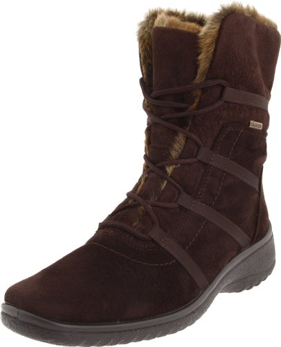 ara Women's Magaly Boot,Brown Synthetic Suede,9.5 W US