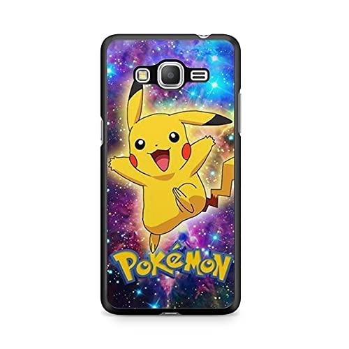 Coque pour Samsung Galaxy Grand Prime Pokemon go Team Pokedex Pikachu Manga Tortank Game Boy Color Salameche Noctali Valor Mystic Instinct Case 23