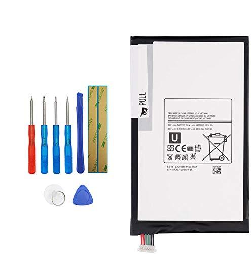 Upplus EB-BT330FBE EB-BT330FBU - Batería de Repuesto Compatible con Samsung Galaxy Tab 4 8.0', SM-T330NU, SM-T337A, SM-T337T, SM-T331, SM-T337V con Kit de Herramientas