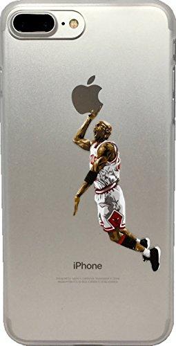ECHC Favorite Basketball Player Hard Plastic iPhone Case (Jordan White, iPhone 6)
