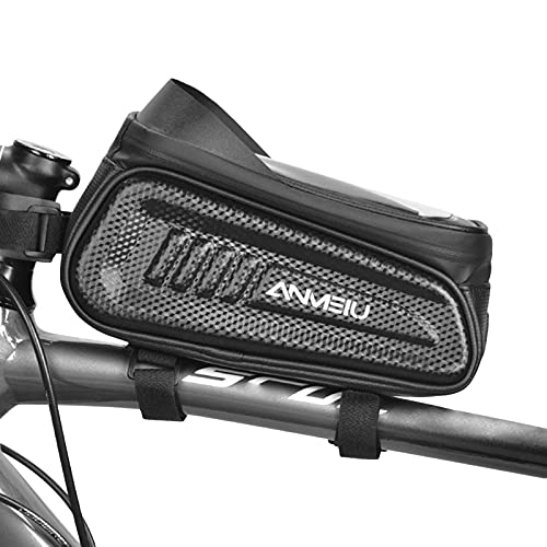 Xinchangda Bolsa de Montaje de Montaje de la Bicicleta de la Bolsa de Haz de la Pantalla táctil de la Pantalla táctil, la Bolsa de Almacenamiento del teléfono del Tubo Superior del Ciclismo
