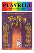 Brand New Color Pride Cover Playbill from The King and I at the Vivian Beaumont Theatre starring Kelli O'Hara Ken Watanabe Ruthie Ann Miles Ashley Park Music by Richard Rodgers Lyrics by Oscar Hammerstein II Book by Oscar Hammerstein II
