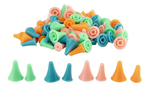 Point Protectors for Circular Knitting Needles (2 Sizes, 100 Pieces)