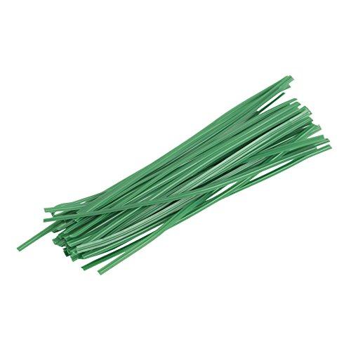 Greengeers 90414 Lot de 100 Liens Plastique Armes 10 cm