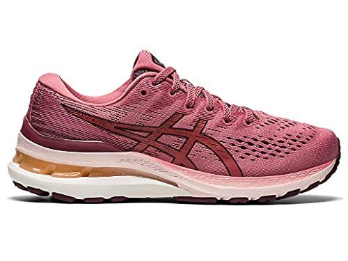 ASICS Women's Gel-Kayano 28 Running Shoes, 9, Smokey Rose/DEEP Mars