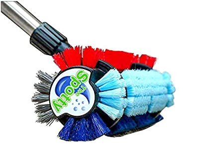 The Spotty? ~ Carpet and Ceramic Tile Cleaning Brush, Stain and Dirt Remover for Carpet and Area Rug