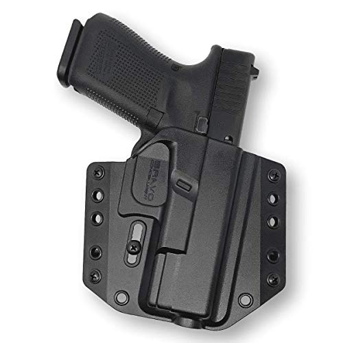 Holster for Glock 19 23 32 (Gen 5 4 3) - OWB Holster for Concealed Carry / Custom fit to Your Gun - Bravo Concealment